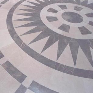 Internal Floor Tiles: Ambrato Minerva Honed
