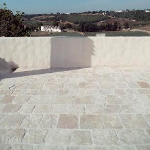 External Floor Tiles:Genius Egnatia chisel edges