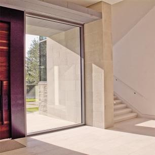 Internal Floor Tiles: Tango Levigato / Wall covering: Tango Silk