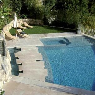 External Floor Tiles and Pool Coping: Tango Silk