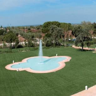 """Fountain Coping/: Genius """"Water"""" Crema Perla Silk"""
